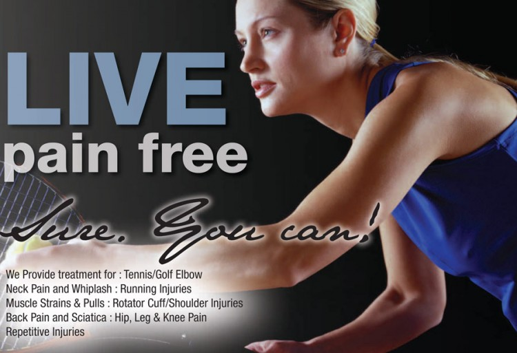 Live Pain Free with the Total Body Clinic