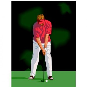 Massages for Golfers - Treatment of Elbow Pain